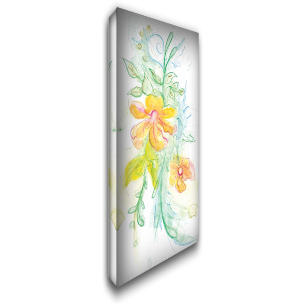 Spring Garden XI 22x40 Gallery Wrapped Stretched Canvas Art by Adkin, Arielle