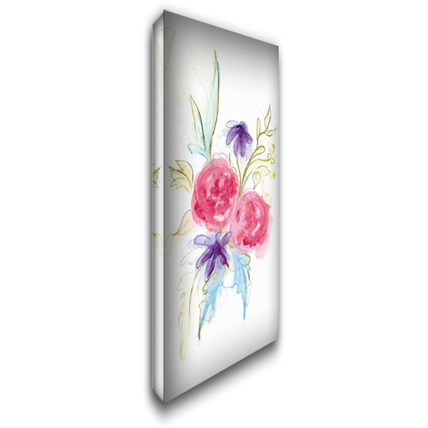 Spring Garden XII 22x40 Gallery Wrapped Stretched Canvas Art by Adkin, Arielle