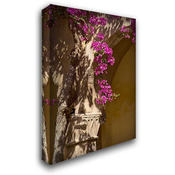 Abbey Flowers I 28x40 Gallery Wrapped Stretched Canvas Art by Arduini, JoAnn T.
