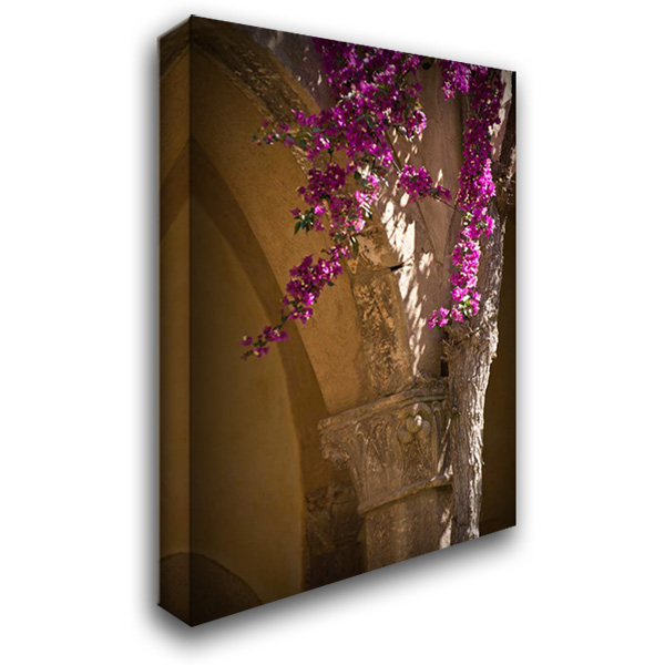 Abbey Flowers II 28x40 Gallery Wrapped Stretched Canvas Art by Arduini, JoAnn T.