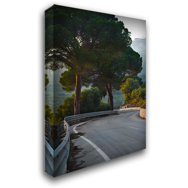 Winding Road II 28x40 Gallery Wrapped Stretched Canvas Art by Arduini, JoAnn T.