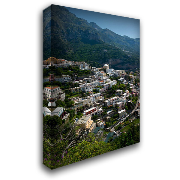 Amalfi I 28x40 Gallery Wrapped Stretched Canvas Art by Arduini, JoAnn T.