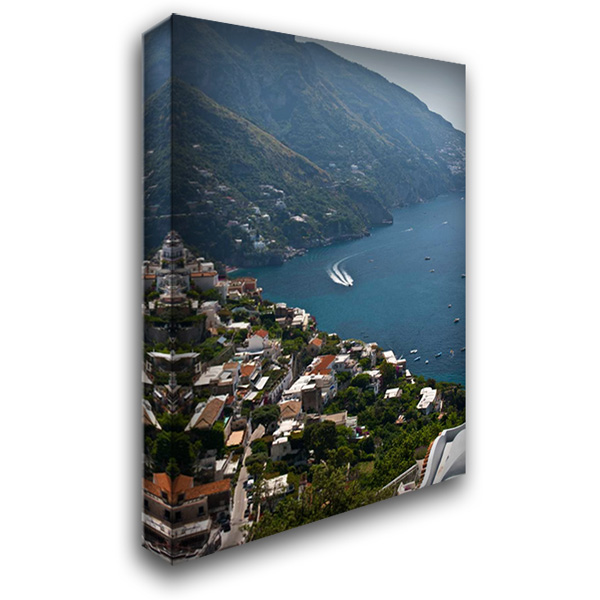 Amalfi II 28x40 Gallery Wrapped Stretched Canvas Art by Arduini, JoAnn T.