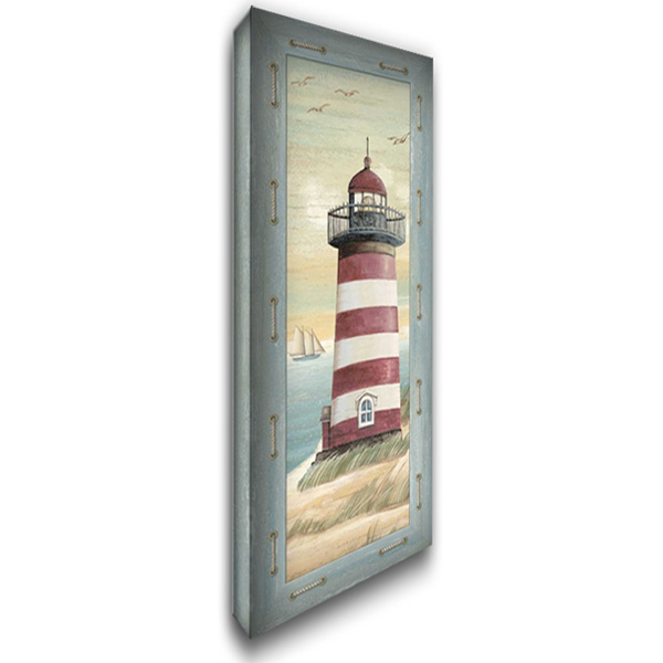 First Light I 19x40 Gallery Wrapped Stretched Canvas Art by Audrey, Charlene