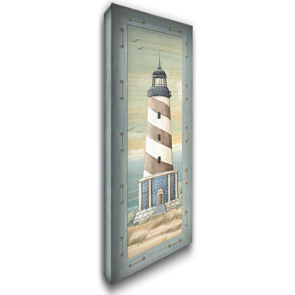 First Light IV 19x40 Gallery Wrapped Stretched Canvas Art by Audrey, Charlene