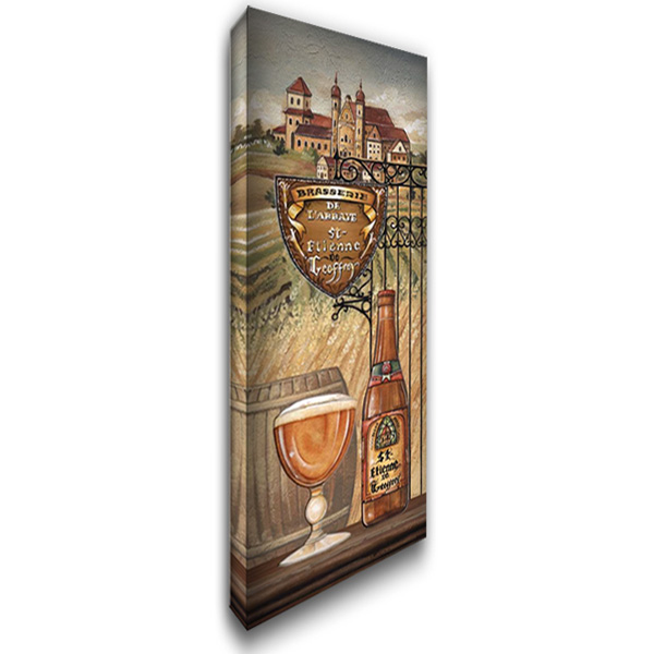 Belgium Beer 18x40 Gallery Wrapped Stretched Canvas Art by Audrey, Charlene