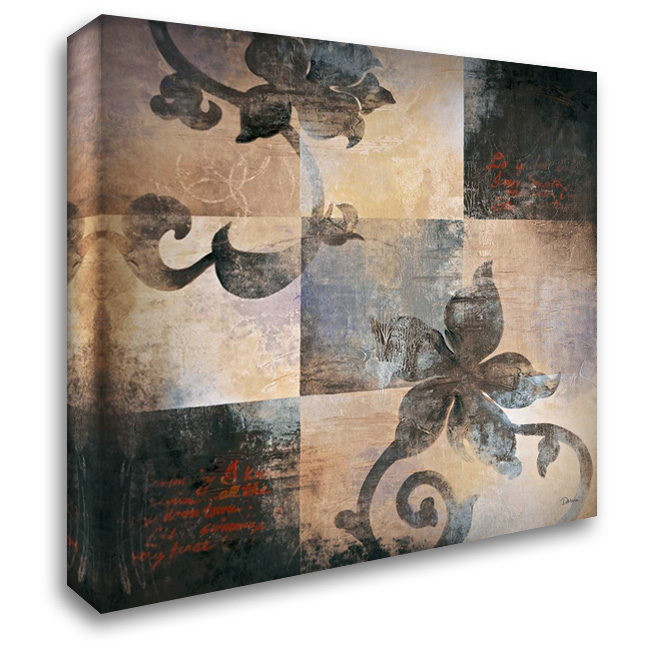 Hanging Garden I 28x28 Gallery Wrapped Stretched Canvas Art by Darien, L
