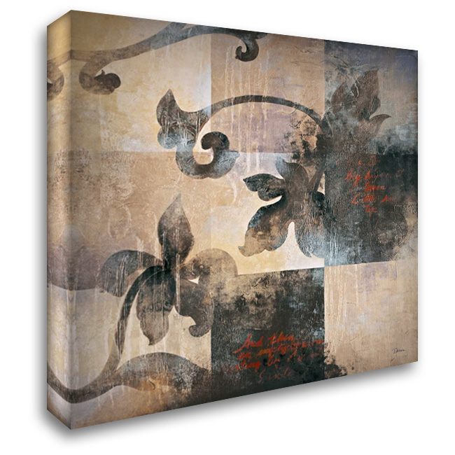 Hanging Garden II 28x28 Gallery Wrapped Stretched Canvas Art by Darien, L