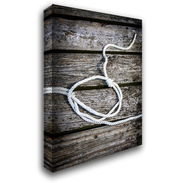 Halyard I 27x38 Gallery Wrapped Stretched Canvas Art by Hausenflock, Alan