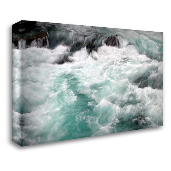 Hamma Hamma Current I 40x28 Gallery Wrapped Stretched Canvas Art by Taylor, Douglas