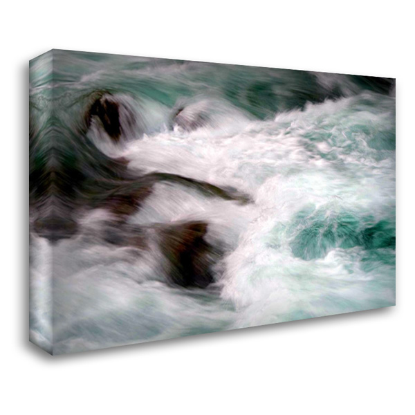 Hamma Hamma Current II 40x28 Gallery Wrapped Stretched Canvas Art by Taylor, Douglas