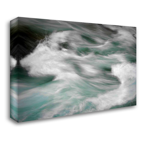 Hamma Hamma Current III 40x28 Gallery Wrapped Stretched Canvas Art by Taylor, Douglas