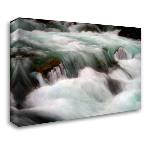 Hamma Hamma Current IV 40x28 Gallery Wrapped Stretched Canvas Art by Taylor, Douglas
