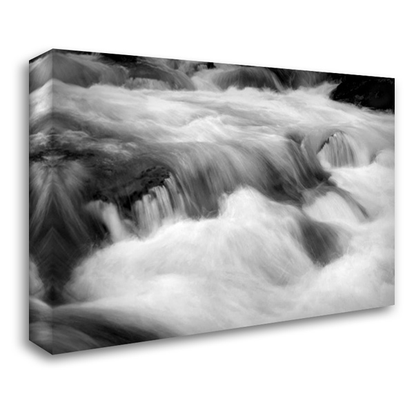 Hamma Hamma Current IV BW 40x28 Gallery Wrapped Stretched Canvas Art by Taylor, Douglas