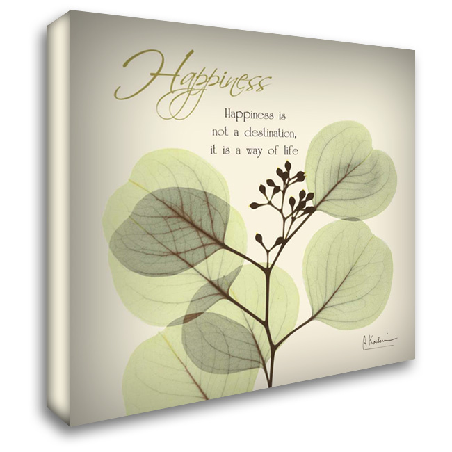Happiness Eucalyptus L294 28x28 Gallery Wrapped Stretched Canvas Art by Koetsier, Albert