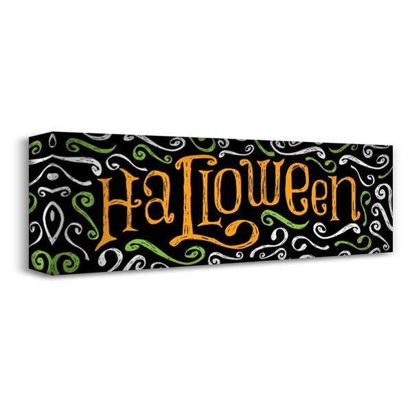 Halloween 2 40x16 Gallery Wrapped Stretched Canvas Art by Grey, Jace