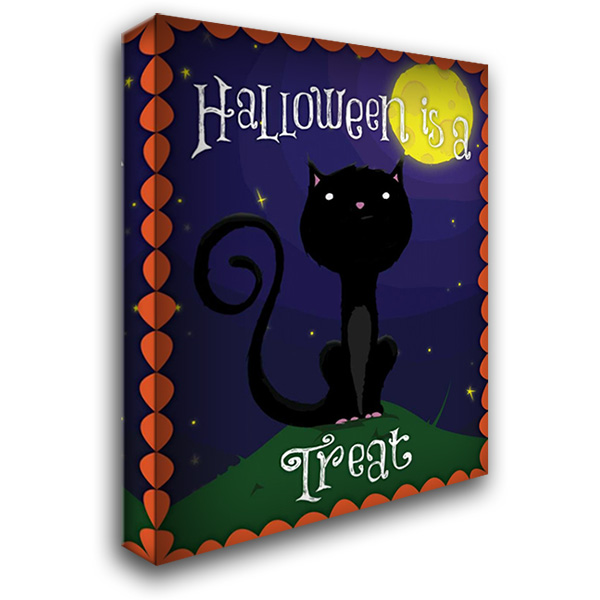 Halloween Treat II 28x36 Gallery Wrapped Stretched Canvas Art by Grey, Jace