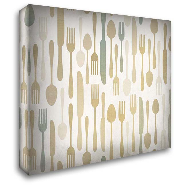 Dinner Time 36x28 Gallery Wrapped Stretched Canvas Art by Kimberly, Allen