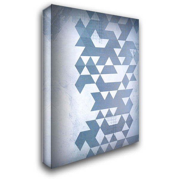 Disrupted Time 28x40 Gallery Wrapped Stretched Canvas Art by Allen, Kimberly