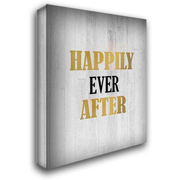 Happily Ever After 28x36 Gallery Wrapped Stretched Canvas Art by Kimberly, Allen