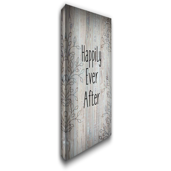 Happily Ever After C 20x36 Gallery Wrapped Stretched Canvas Art by Allen, Kimberly