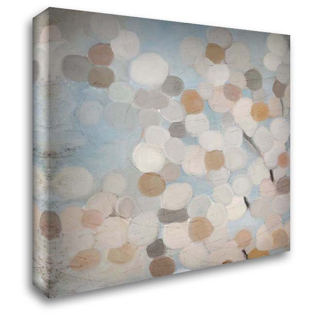 Happy Dance 1 28x28 Gallery Wrapped Stretched Canvas Art by Kimberly, Allen