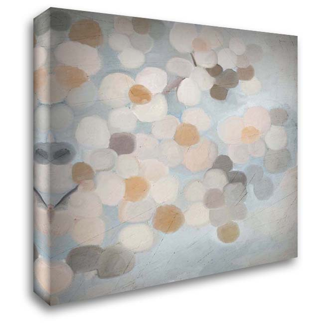 Happy Dance 2 28x28 Gallery Wrapped Stretched Canvas Art by Kimberly, Allen