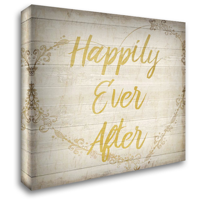 Happily Ever After 28x28 Gallery Wrapped Stretched Canvas Art by Allen, Kimberly