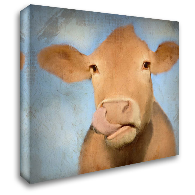 Dinnertime 28x28 Gallery Wrapped Stretched Canvas Art by Allen, Kimberly