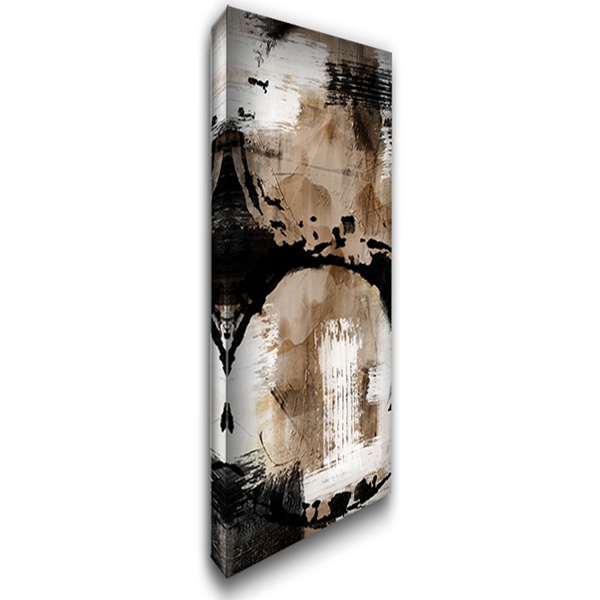 Distressed Road 2 18x40 Gallery Wrapped Stretched Canvas Art by Prime, Marcus