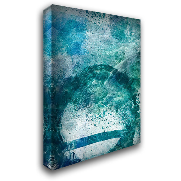Distressed Ocean 1 28x36 Gallery Wrapped Stretched Canvas Art by Prime, Marcus