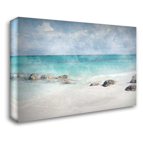 Distant Memories 1 37x28 Gallery Wrapped Stretched Canvas Art by Prime, Marcus