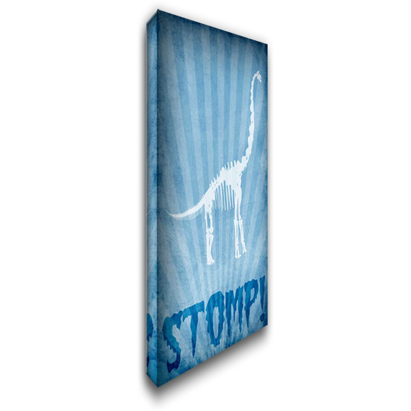 Dino Bones 3 22x40 Gallery Wrapped Stretched Canvas Art by Prime, Marcus