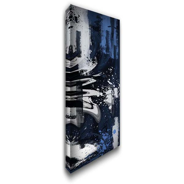 Disfigured Marble 22x40 Gallery Wrapped Stretched Canvas Art by Prime, Marcus