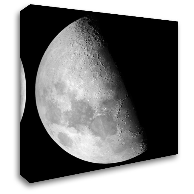 Half Way To The Moon 28x28 Gallery Wrapped Stretched Canvas Art by Prime, Marcus