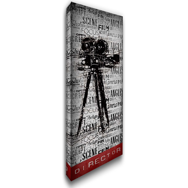 Director 16x40 Gallery Wrapped Stretched Canvas Art by OnRei