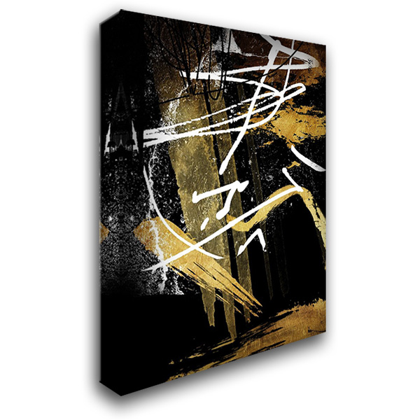 Distraction 28x36 Gallery Wrapped Stretched Canvas Art by OnRei