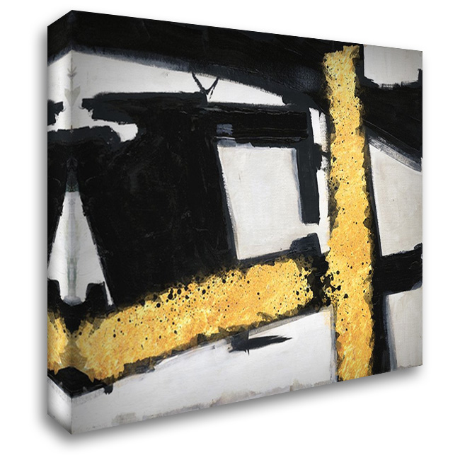 Divine Streaks 1 36x28 Gallery Wrapped Stretched Canvas Art by Lewis, Sheldon