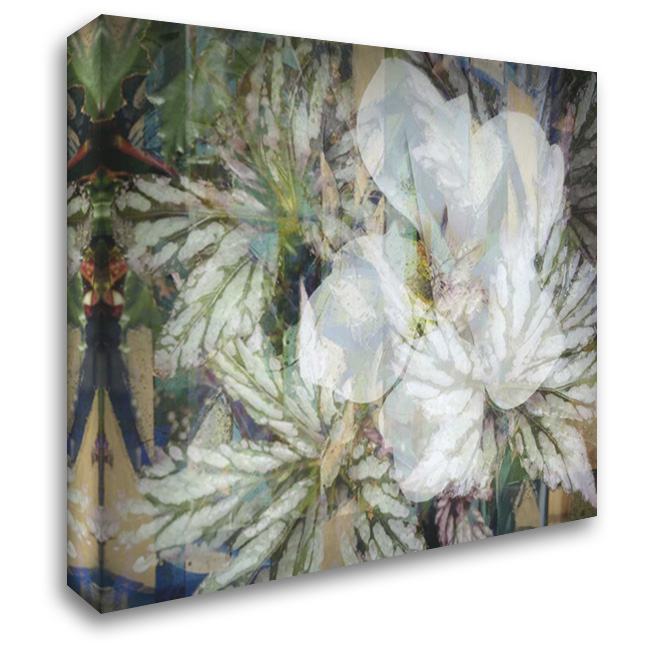 Distorted Jungle 1 36x28 Gallery Wrapped Stretched Canvas Art by Haynes, Smith