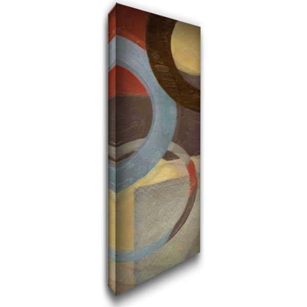 HALO WEAVE IV 16x40 Gallery Wrapped Stretched Canvas Art by Greene, Taylor