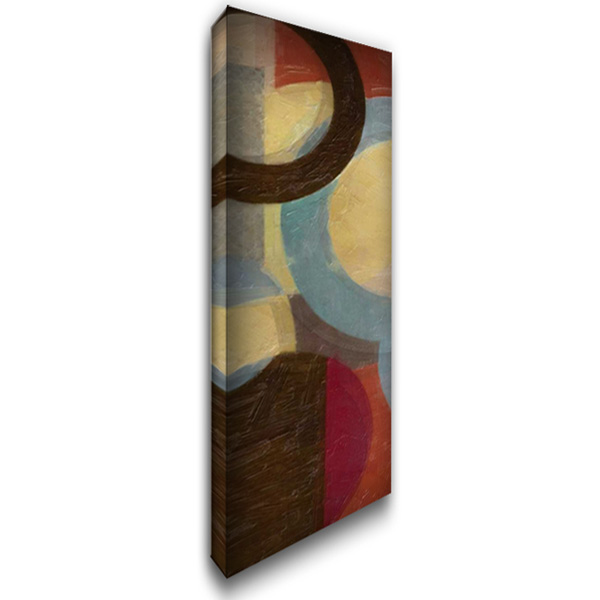 HALO WEAVE V 16x40 Gallery Wrapped Stretched Canvas Art by Greene, Taylor