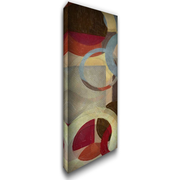 HALO WEAVE VI 16x40 Gallery Wrapped Stretched Canvas Art by Greene, Taylor