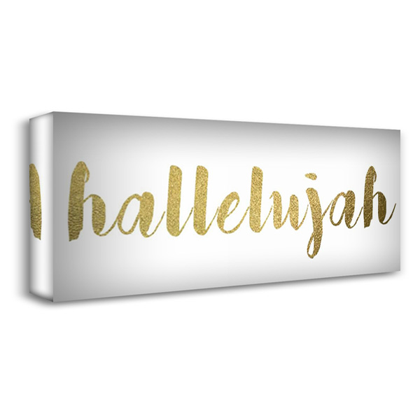 Hallelujah 40x18 Gallery Wrapped Stretched Canvas Art by Greene, Taylor