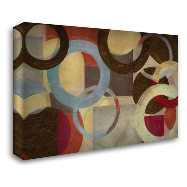 HALO WEAVE 40x28 Gallery Wrapped Stretched Canvas Art by Greene, Taylor