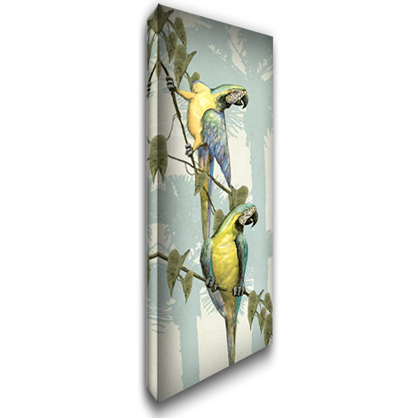 Hanging Out III 16x40 Gallery Wrapped Stretched Canvas Art by Butler, Steve