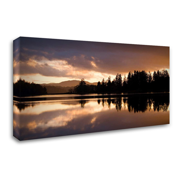Hammersley Inlet 40x25 Gallery Wrapped Stretched Canvas Art by Delimont, Danita