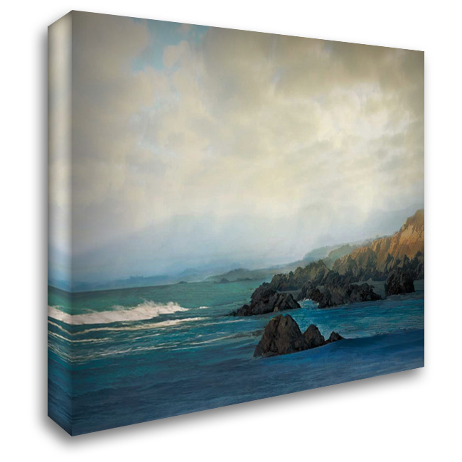Distant 28x28 Gallery Wrapped Stretched Canvas Art by Calascibetta, Mike