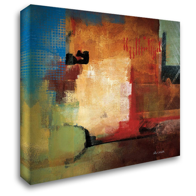 Discoveries 28x28 Gallery Wrapped Stretched Canvas Art by Li-Leger, Noah