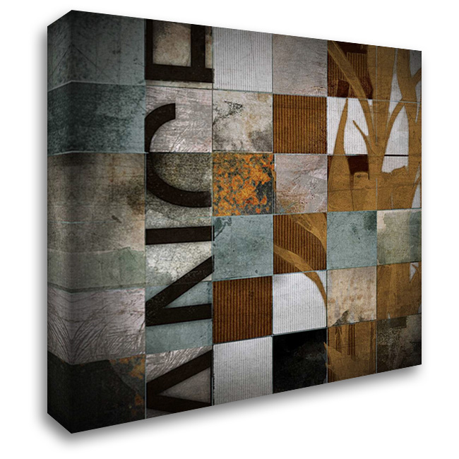 Divisions 28x28 Gallery Wrapped Stretched Canvas Art by NOAH