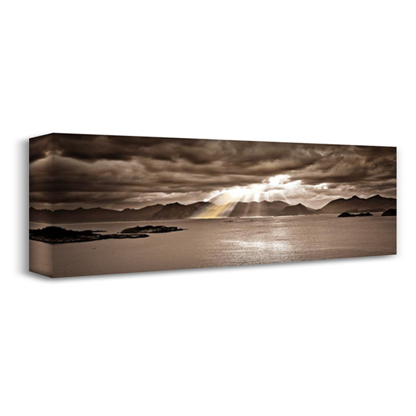 Divinity 40x16 Gallery Wrapped Stretched Canvas Art by Frank, Assaf